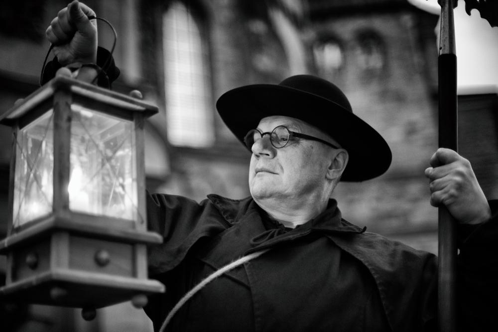 Alf Keilen, Nachtwächter, Trier, 2016